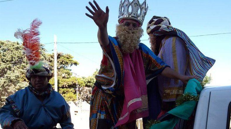 Así pasaron los Reyes por Rada Tilly