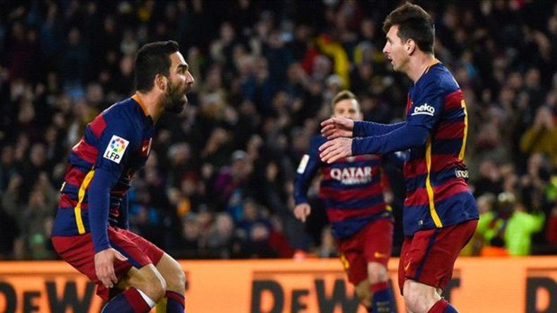 Dos goles y dos asistencias de un Messi imparable