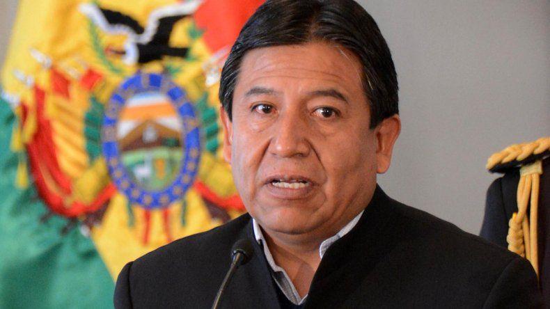 El canciller boliviano brindó detalles de la posición diplomática de su país.