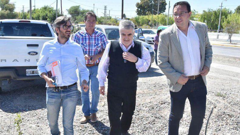 Das Neves y Adrián Maderna continúan exhibiendo coincidencias a la hora de la gestión.