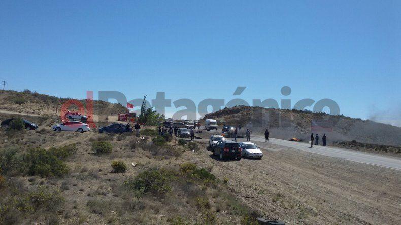 Piquetes en Caleta Olivia: UOCRA amenazó con bloquear el acceso a yacimientos
