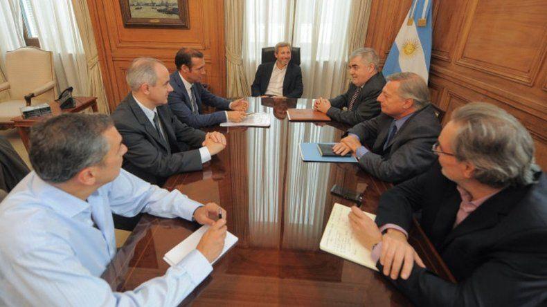 Das Neves se reúne esta tarde con el ministro del Interior Rogelio Frigerio