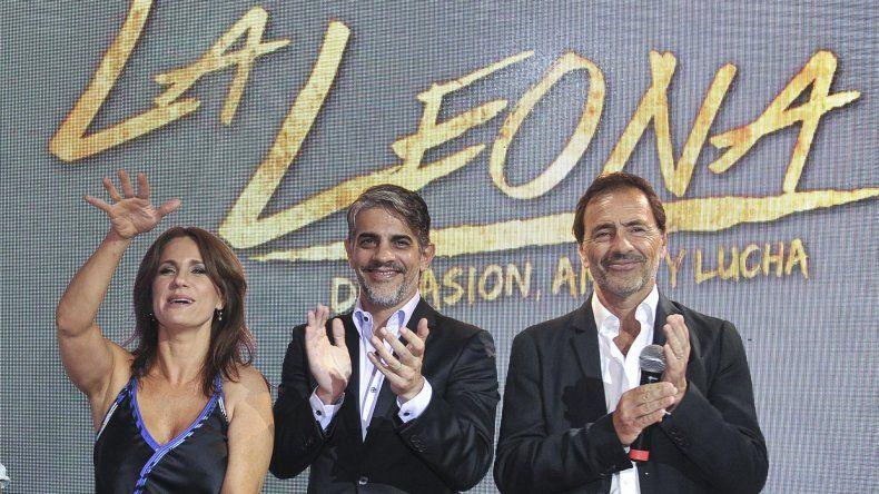 Nancy Dupláa y Pablo Echarri encabezan el elenco de `La leona`.
