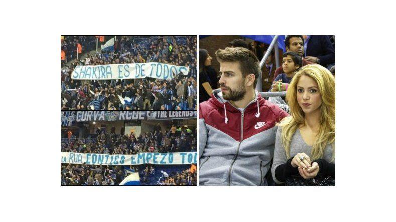 Frases contra Shakira para molestar a Gerard Piqué en la cancha