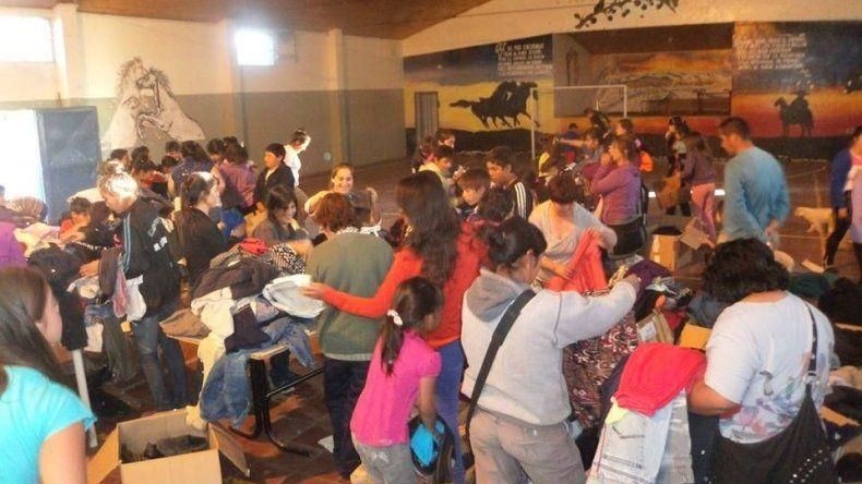 Realizan campaña solidaria para la Cordillera