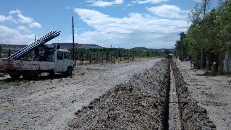 La SCPL realiza trabajos de red de agua y alumbrado en Km 17