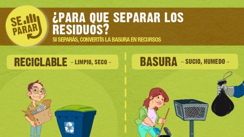 Se lanza la nueva campaña de separación de residuos SE-PARAR