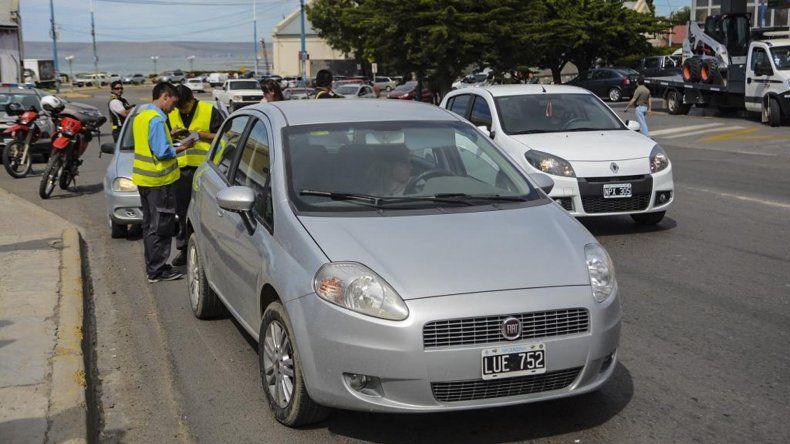 La morosidad que se detecta en los controles de tránsito sigue siendo alta