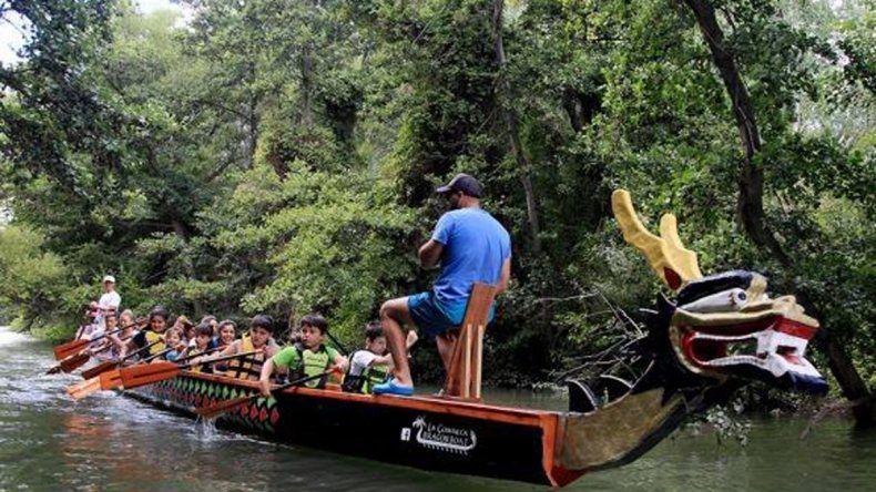 El Dragon Boat llegó a Río Negro