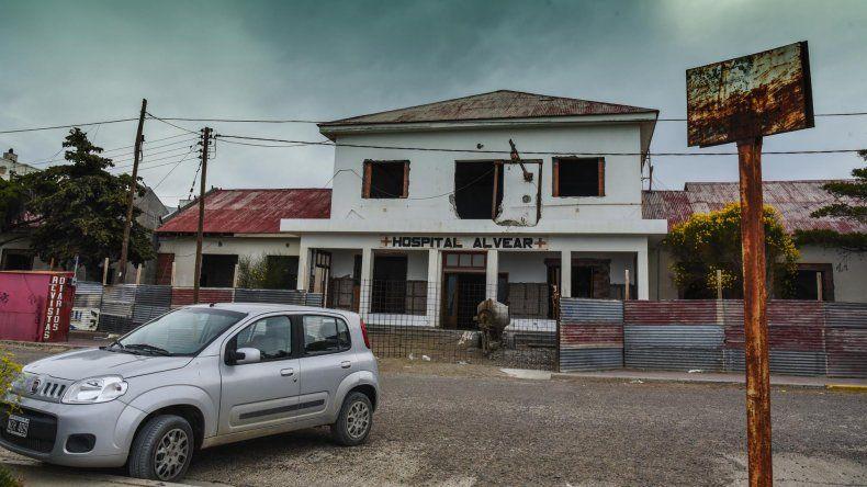 El Hospital Alvear funciona en forma limitada hasta que termine la obra de su ampliación.
