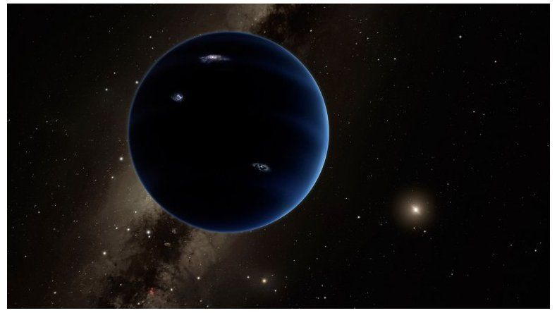 Detectaron un posible noveno planeta en el sistema solar