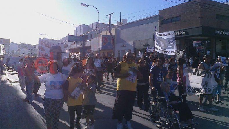 Marcharon por Lucas Díaz y otras víctimas de asesinatos