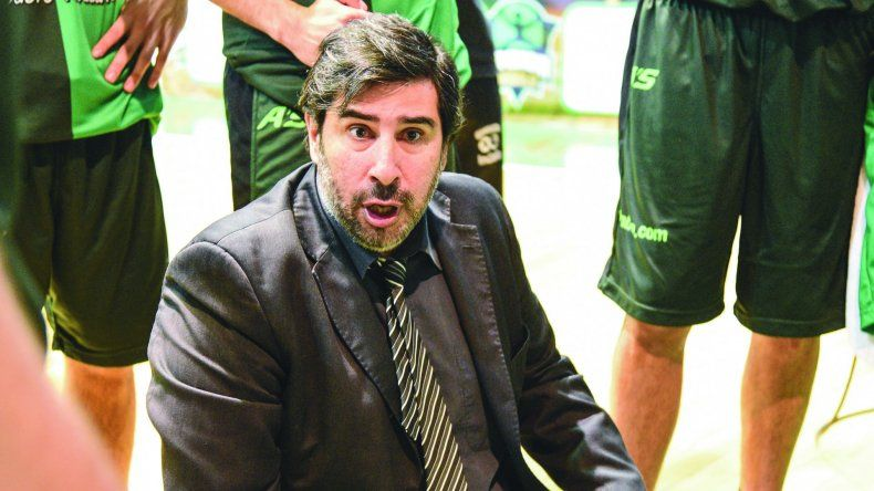 Gonzalo García quedó muy conforme con las últimas actuaciones del Verde