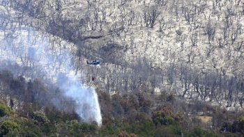 La situación en el Parque Nacional Los Alerces no da respiro. En cuatro días ya se consumieron 1.700 hectáreas.