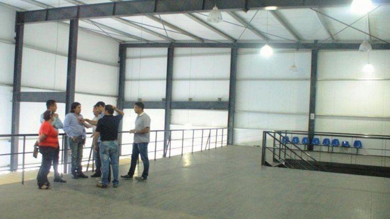 Funcionarios municipales inspeccionaron la planta alta de la Terminal de Omnibus