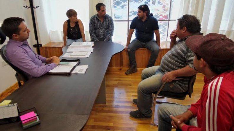 Concejales del FpV se reunieron con cooperativistas