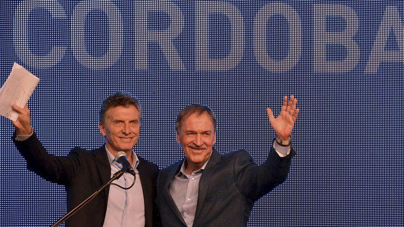 Mauricio Macri y Juan Schiaretti. Funcionarios nacionales y provinciales mantuvieron una reunión de gabinete conjunta.