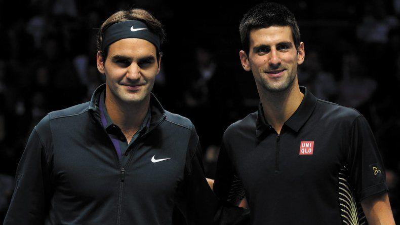 Roger Federer y Novak Djokovic se cruzarán en una de las semifinales del primer Grand Slam de la temporada.