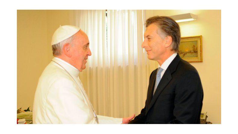 Francisco le mandó una carta a Macri por el 25 de Mayo
