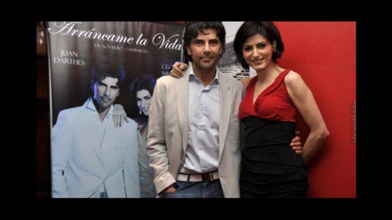 Juan Darthés y Cecilia Milone en Tango con Mayúsculas