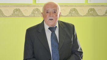 Juan Pérez Sáez, presidente del Centro Andaluz de Comodoro Rivadavia.