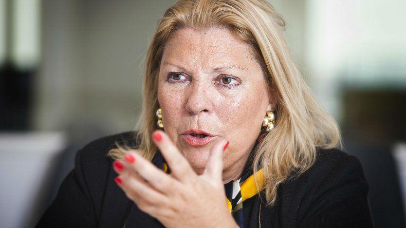 Ganancias: Elisa Carrió pide subir el mínimo no imponible a $47.430