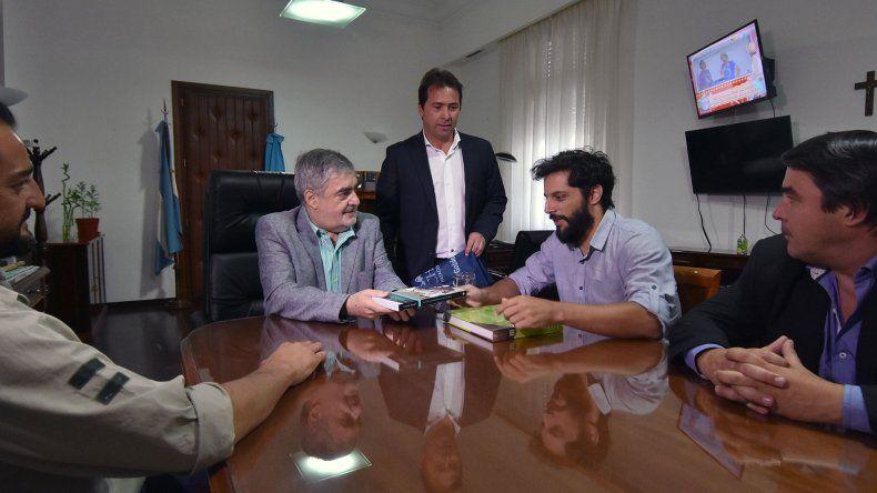Joaquín Furriel llegó a Chubut para filmar su nueva película