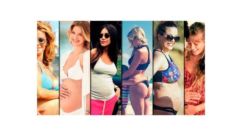 Las famosas que pasarán el Día de los enamorados embarazadas