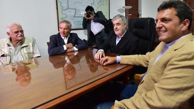 En la reunión con Massa se trató la crisis petrolera y el fondo anticiclico