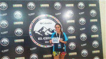 Debutando en la carrera y representando a Running Team Sarmiento, Mónica es una de las debutantes de El Cruce.