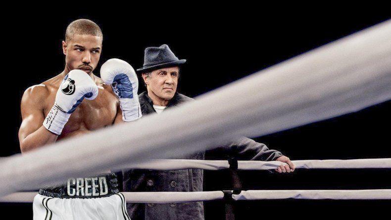 Sylvester Stallone y Michael B. Jordan protagonizan Creed