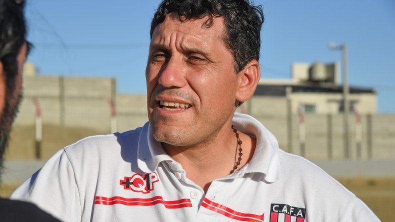 Pocho Portalau sueña con cumplir objetivos con Ameghino que van más allá de lo estrictamente deportivo.