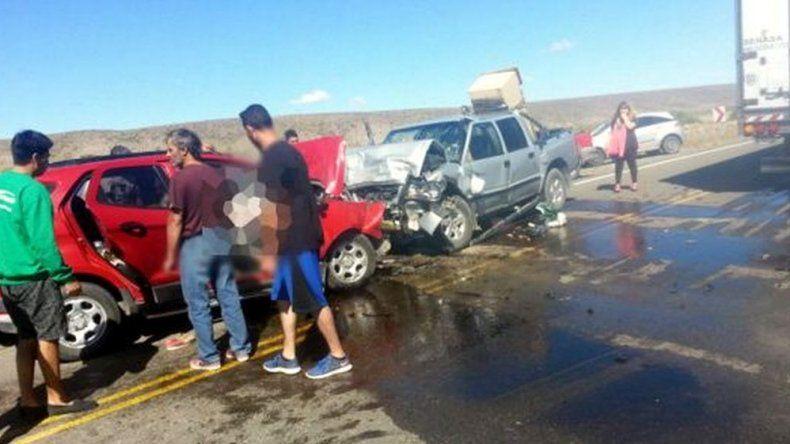 Fatal accidente: dos vecinos de Comodoro fallecieron en el retorno de la cordillera