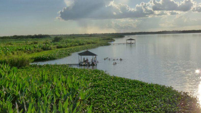 Lagunas y bañados en Formosa