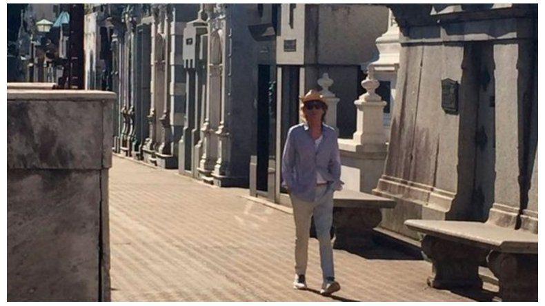 Mick Jagger volvió a recorrer la Ciudad sin ser visto por sus fanáticos