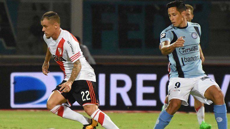Andrés DAlessandro no pudo festejar en su vuelta a River luego de 13 años.