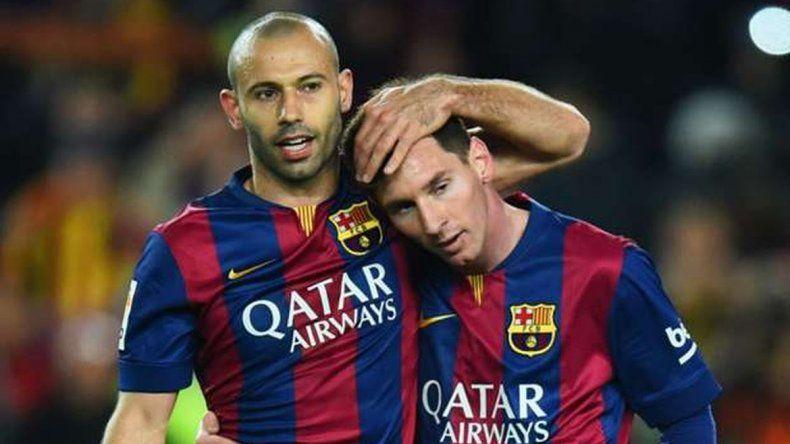 En Barcelona hacen campaña para que Messi deje patear un penal a Mascherano