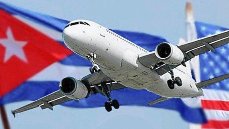 Cuba y EE.UU. restablecen vuelos  regulares después de más de 50 años