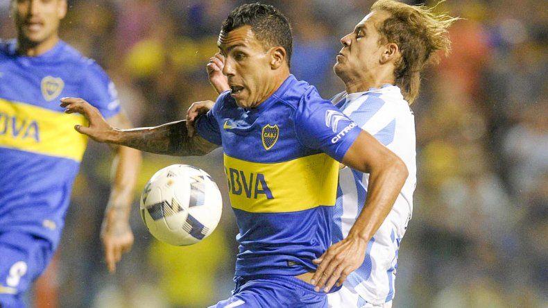 Carlos Tevez intentará esta noche en San Juan reencontrarse con el nivel que necesita Boca.