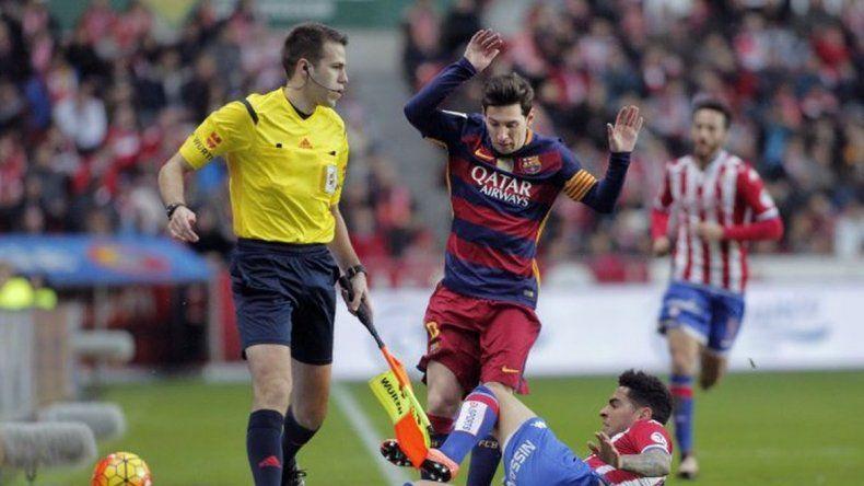 Messi superó los 300 goles en la Liga española