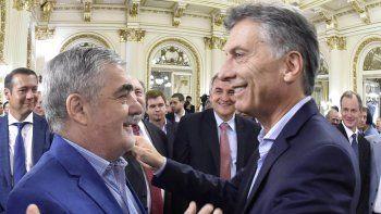 Das Neves estuvo ayer en la Casa Rosada, donde Macri anunció la suba del mínimo no imponible para quienes tributan Ganancias.