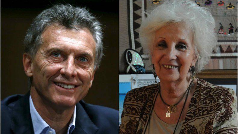 Macri recibirá a Estela de Carlotto