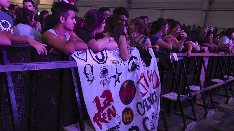 La música reunió a más de 50.000 personas en la jornada final del festival Aniversario