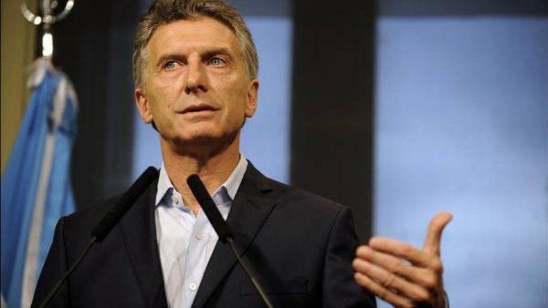 Conferencia de prensa de Macri en Casa Rosada