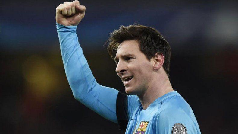Messi le dio el 50% del pase a cuartos al Barcelona