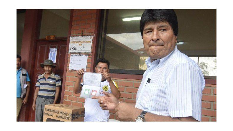 El tribunal electoral confirmó el triunfo del No en el referéndum boliviano