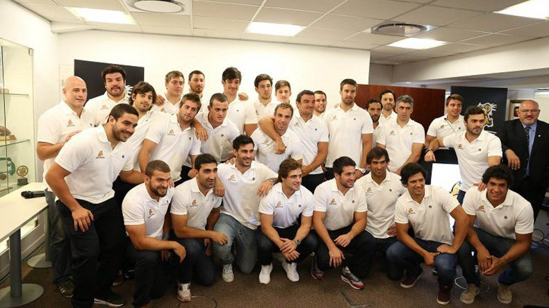 El plantel argentino de Los Jaguares que hoy debutará en el Super Rugby.