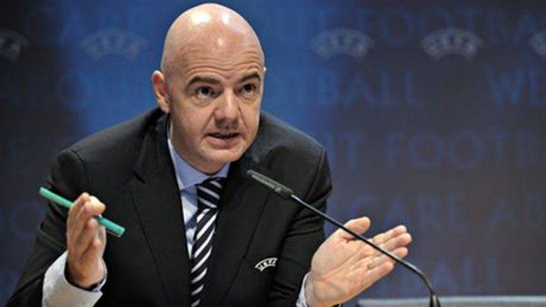 El suizo Gianni Infantino es el nuevo presidente de la FIFA