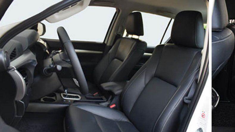Los detalles de la nueva Toyota Hilux SRX con caja automática
