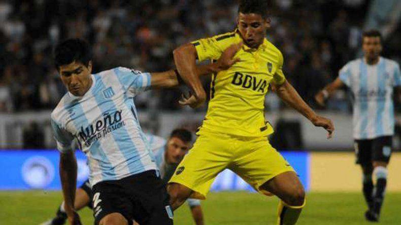 Racing y Boca se verán las caras esta tarde en el Cilindro de Avallaneda.